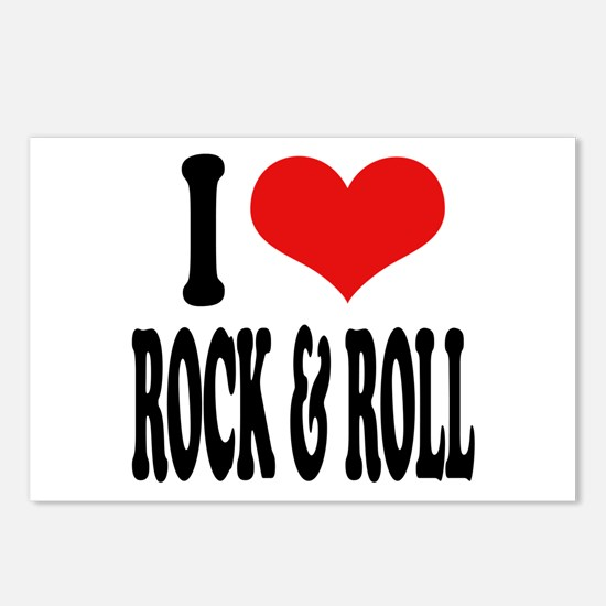 I Love Rock & Roll Postcards (Package of 8)