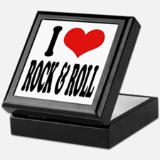 I Love Rock & Roll Keepsake Box