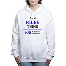 Cute Riled Women's Hooded Sweatshirt