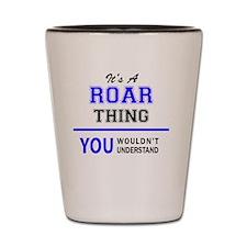 Unique Roar Shot Glass