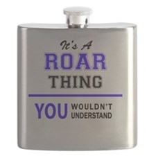 Unique Roar Flask