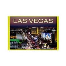 Las Vegas Strip Rectangle Magnet