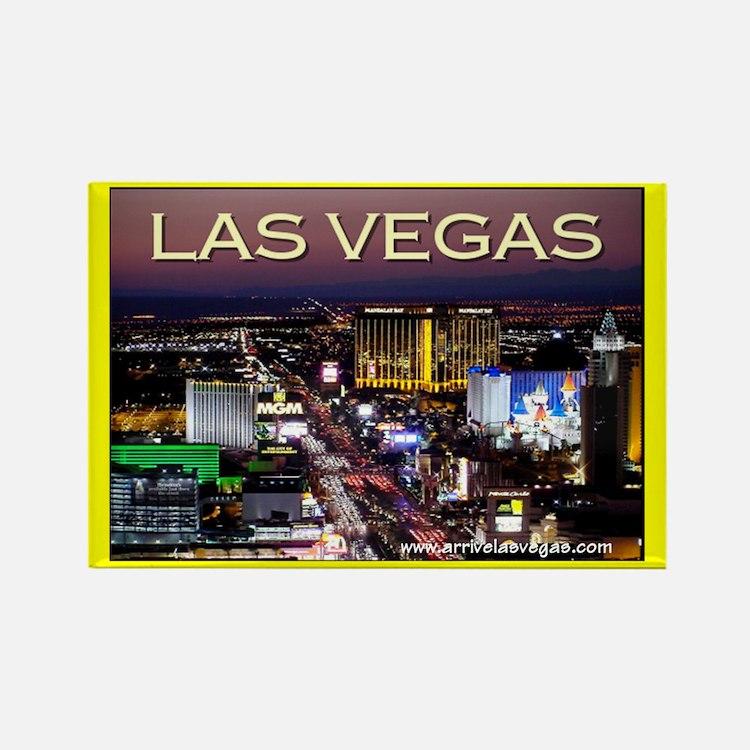 Las Vegas Strip Rectangle Magnet