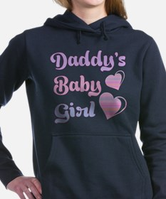 Daddy's Baby Girl Women's Hooded Sweatshirt