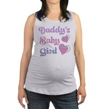Daddy's Baby Girl Maternity Tank Top
