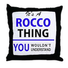 Unique Rocco Throw Pillow