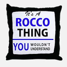 Cute Rocco Throw Pillow