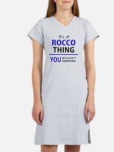 Cute Rocco Women's Nightshirt