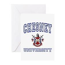 CHESNEY University Greeting Cards (Pk of 10)
