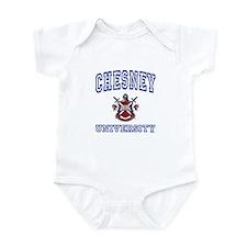 CHESNEY University Infant Bodysuit
