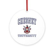 CHESNEY University Ornament (Round)