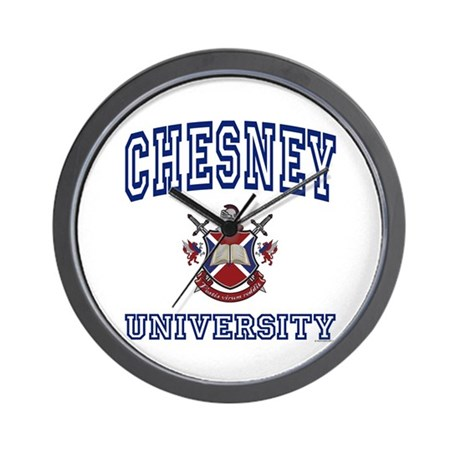 CHESNEY University Wall Clock