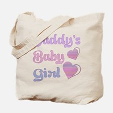 Daddy's Baby Girl Tote Bag