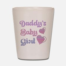 Daddy's Baby Girl Shot Glass
