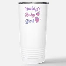 Daddy's Baby Girl Travel Mug