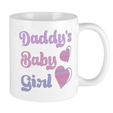 Daddy's Baby Girl Mugs