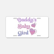 Daddy's Baby Girl Aluminum License Plate
