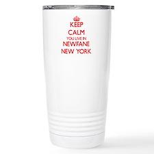 Keep calm you live in N Travel Coffee Mug