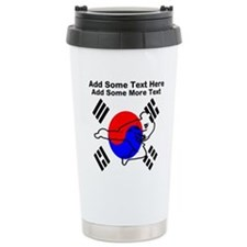 Martial Arts Travel Mug