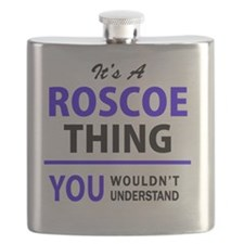 Unique Roscoe Flask
