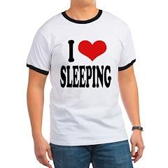 I Love Sleeping T