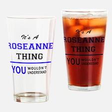 Unique Roseanne Drinking Glass