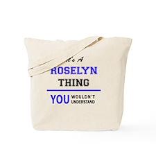 Cute Roselyn Tote Bag