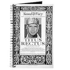 "Sound & Fury ""Titus Rectus"" Journal"