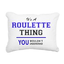 Cute Roulette Rectangular Canvas Pillow