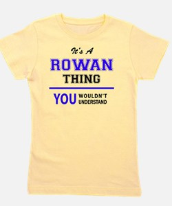 Cute Rowan Girl's Tee