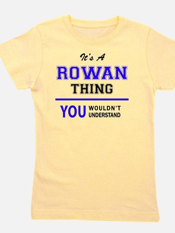 Cute Rowan Girl's Tee