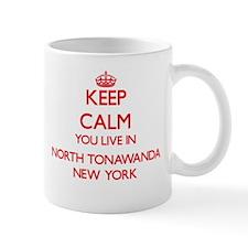 Keep calm you live in North Tonawanda New Yor Mugs