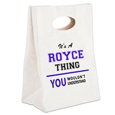 Cute Royce Canvas Lunch Tote