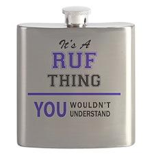 Cute Ruffed Flask