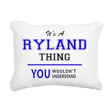 Cute Ryland Rectangular Canvas Pillow
