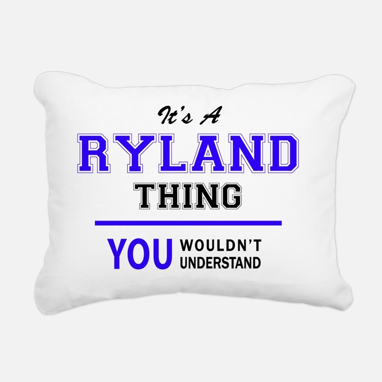 Cute Ryland Rectangular Canvas Pillow