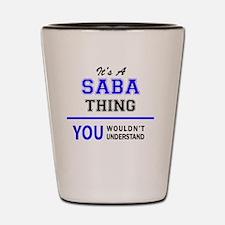 Unique Saba Shot Glass