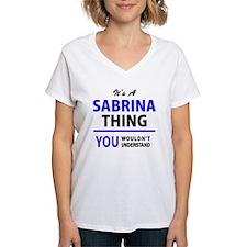 Unique Sabrina Shirt