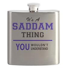 Unique Saddam Flask