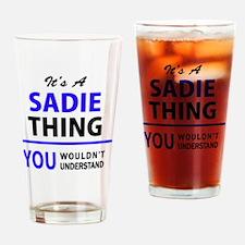 Cute Sadie Drinking Glass