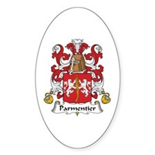 Parmentier Oval Decal