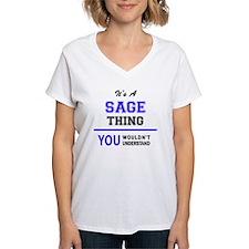 Unique Sage Shirt