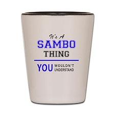 Cute Sambo Shot Glass