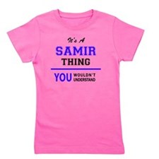 Cute Samir Girl's Tee