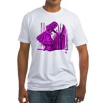 Behind the Curtain Fitted T-Shirt