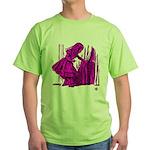 Behind the Curtain Green T-Shirt