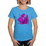 Behind the Curtain Women's Dark T-Shirt