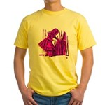 Behind the Curtain Yellow T-Shirt