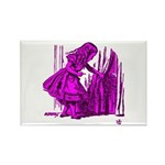 Behind the Curtain Rectangle Magnet (100 pack)