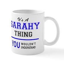 Unique Sarahi Mug